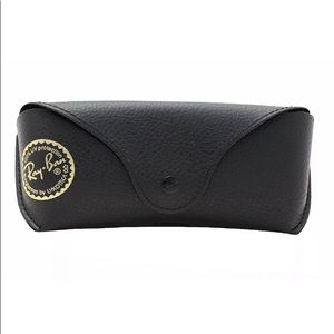Ray Ban Black Leather Case & Cloth